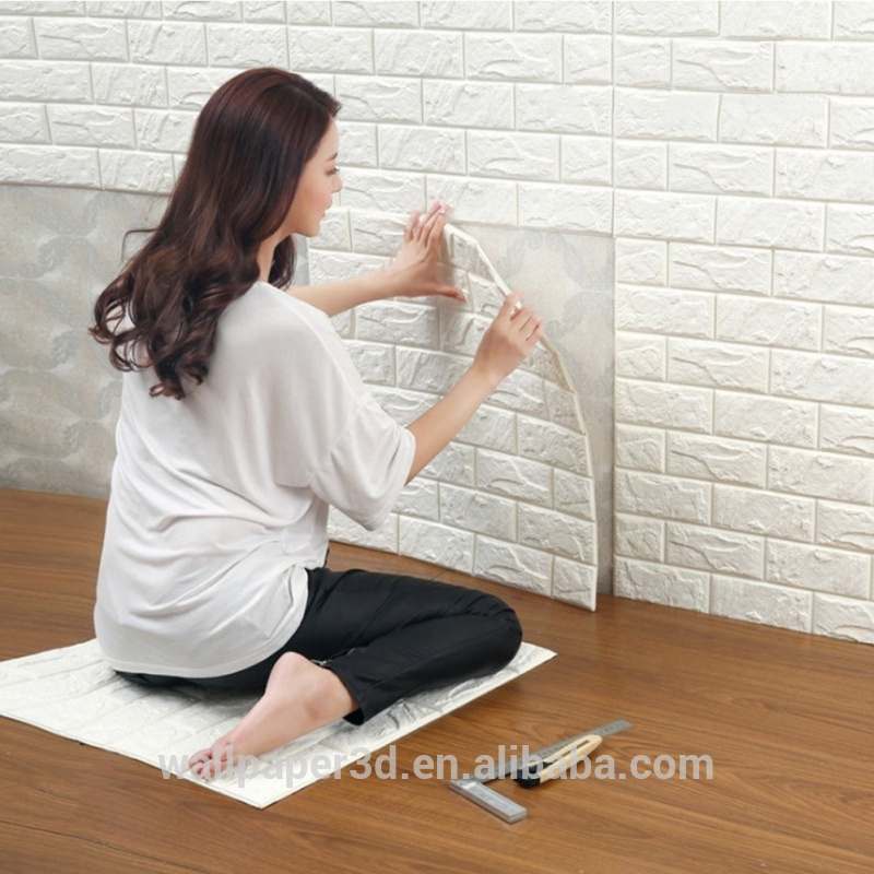 2018 manufacturer Heat Insulation 3d wallpaper <strong>wall</strong> vk