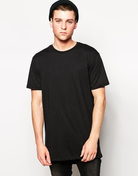 1f2206355a9f New Look Longline Tee Shirt Blank