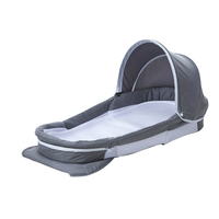 Baby Delight Snuggle Nest Harmony Infant Sleeper/Baby Bed with Incline Wedge