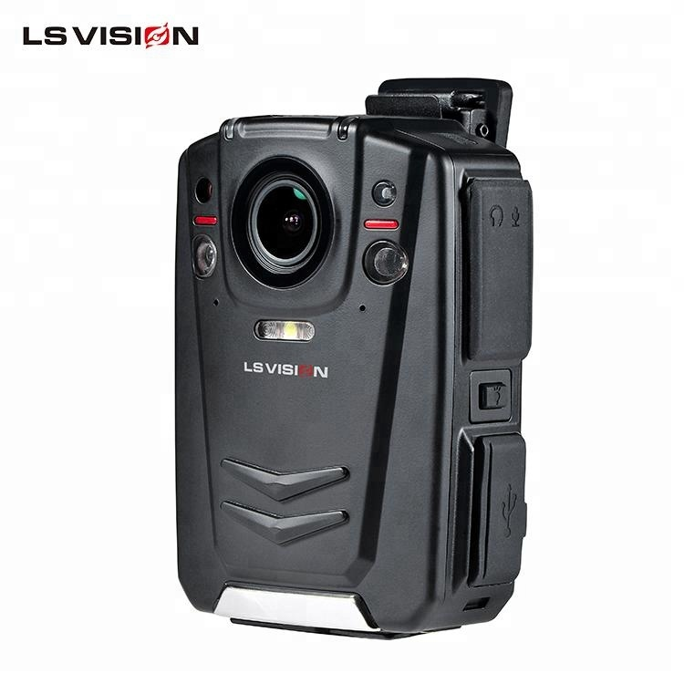 LSVISION Ambarella A12 1080P HD Record GPS Wifi Wireless 4G Live Streaming Police Law Enforcement Body Worn <strong>Camera</strong>