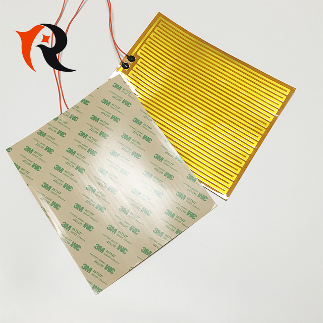 Customize flexible polyimide heat pad with 3m adhesive