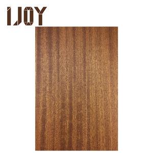Natural Teak Wood Veneer Veneer Surface With Eucalyptus Core Uv Coated Panel