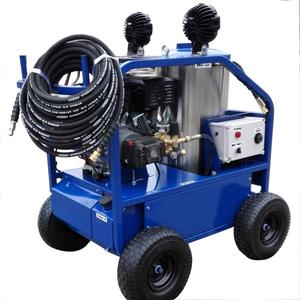 ,pressure washer with heat for airport cleaning