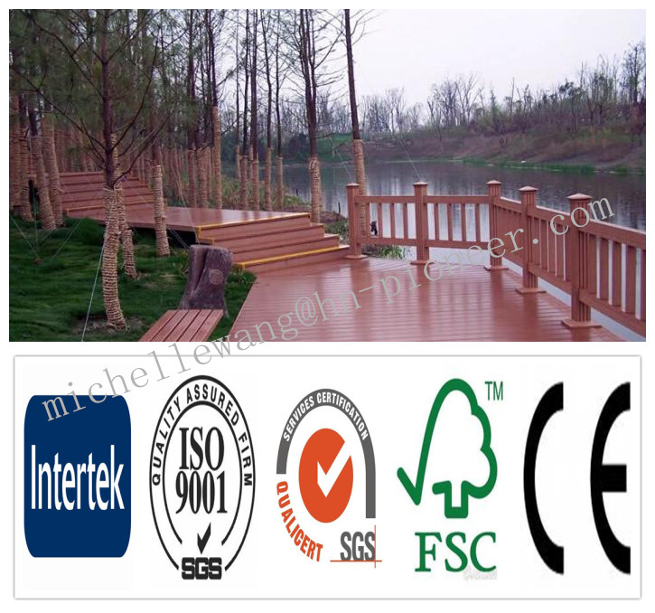 Weather resistant anti-UV WPC decking beam, WPC Board