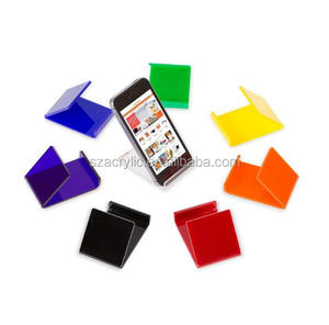 acrylic cell photo display stand acrylic phone holder