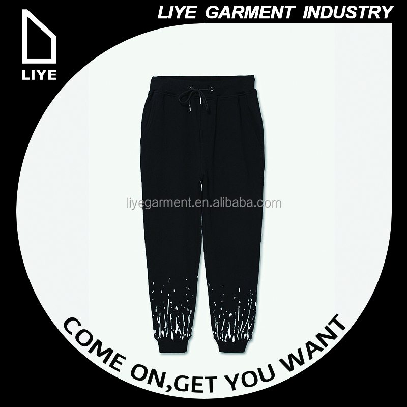 China Liye professional manufacturer special design Original X Youth Perforated pocket splash-ink pants