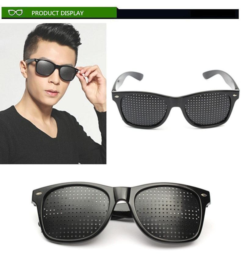 Wholesale Anti Myopia Pinhole Glasses Women Men Pin Hole