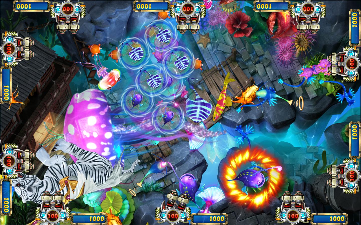 Drachen Strike Jagd Schießen Glücksspiel Arcade Spiel Fisch Spiel Maschine