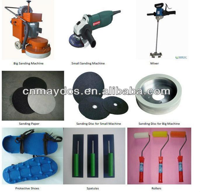 China Supplier Warehouse Heavy Duty Floor Paint / Non Slip Epoxy ...