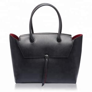 0288e06f90 Black Leather Bag Women GuangZhou Wholesale Manufacturer Tote Ladies Handbag  Sac Cuir