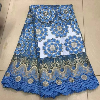 AL2422 Wholesale wedding lace fabric African net lace fabric