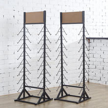 Factory custom made metal keramische display/vloer keramische tegel display/ijzer steen panel display rack
