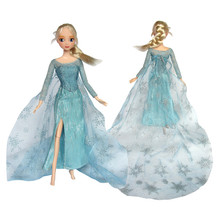 2014 elsa dress cosplay traje congelado