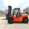 New Diesel Forklift Truck CE Approved 10 Ton Forklift With Japanese Motor