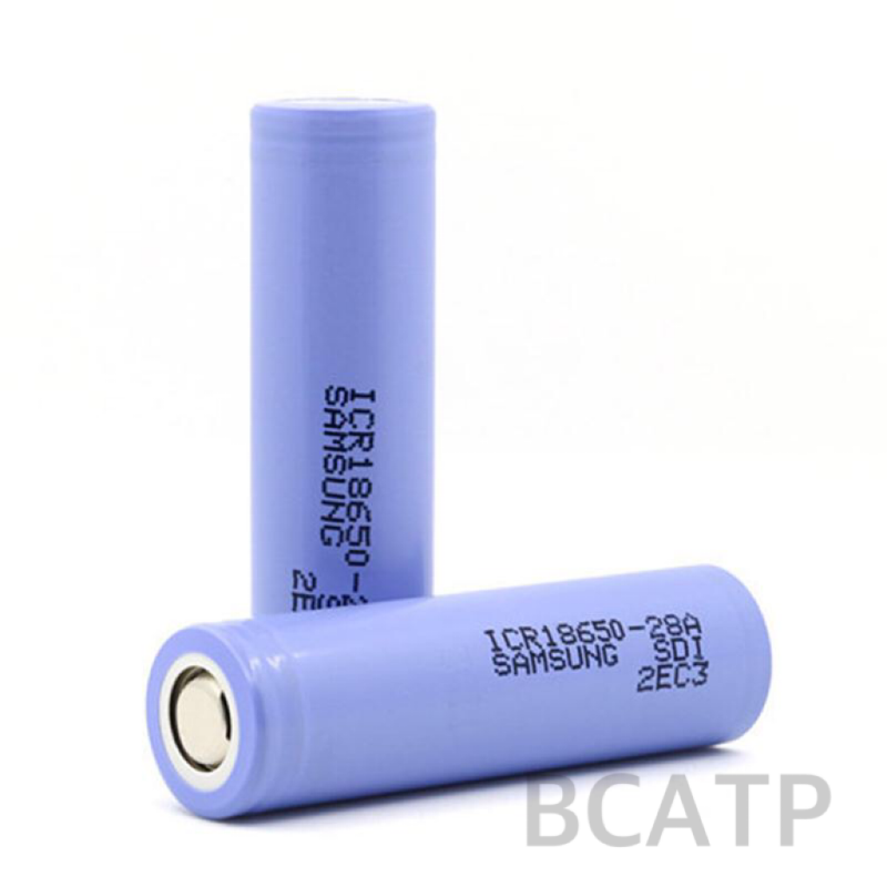 E-cigs cells 18650 battery 2800mah 3.7V samsung ICR18650-28A for led camping lantern
