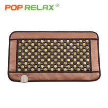 POP RELAX Korea tourmaline jade mattress thermal far infrared electric heating physiotherapy health care negative ion stone mat