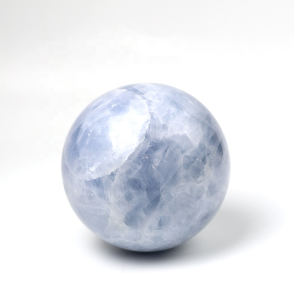 New product 100% natural celestine crystal sphere magic crystal ball healing stone