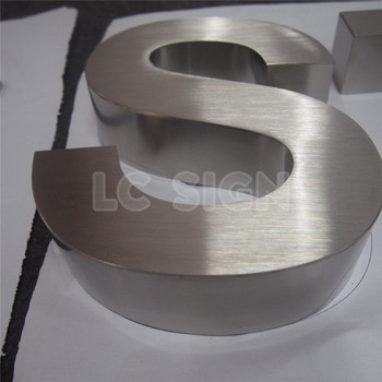 interior and exterior brushed metal stainless steel house letters and numbers buy brushed stainless steel lettersoutdoor led mini sign letterstainless