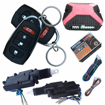 24v Vehicle Car Remote Central Lock System With Big Pulling Force