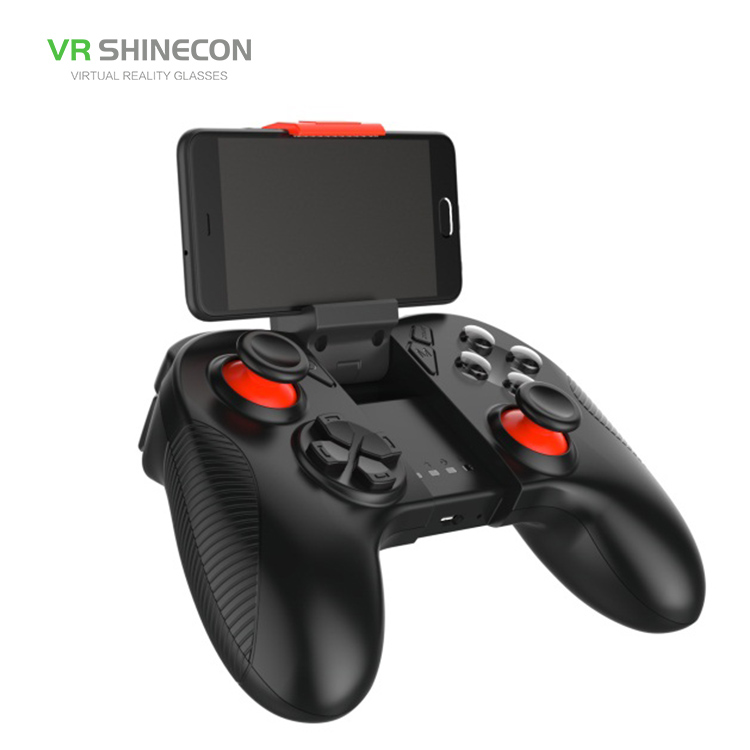 Vr shinecon Gamepad Senza Fili con USB e Interfaccia Joystick ps4 Controller di Gioco per il Calcolatore Del Telefono Mobile