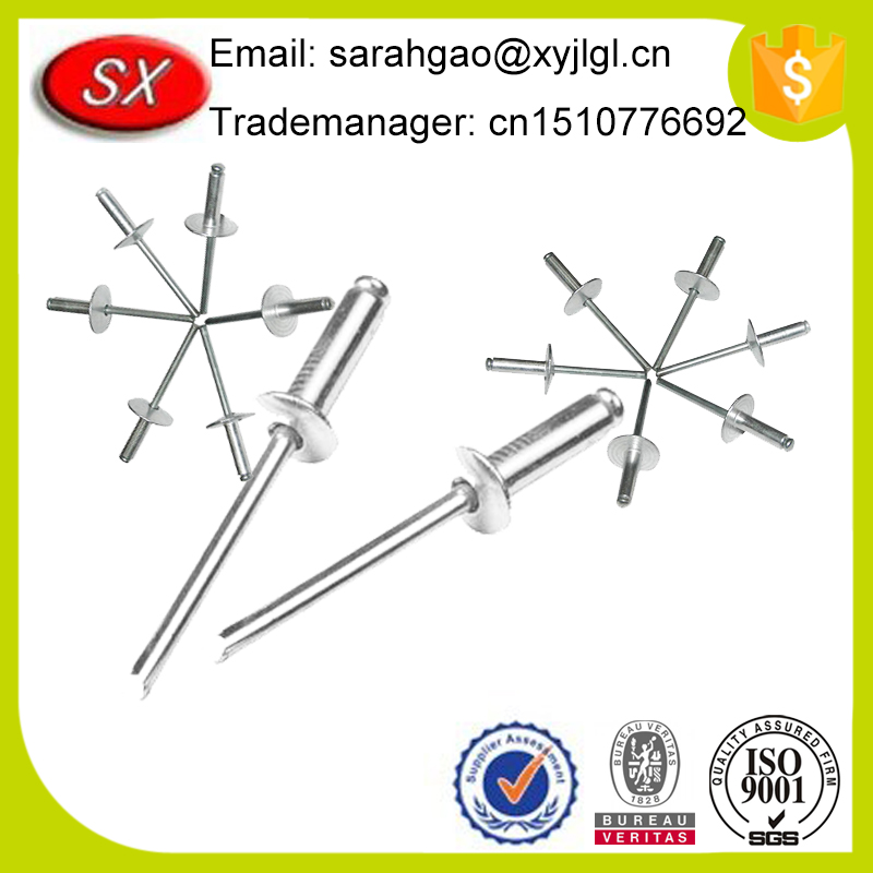 Wholesale Cheap Price Steel Metal Rosette Rivets Hardware From Professional Supplier