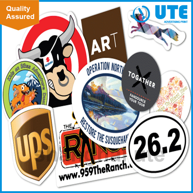 Customised high quality manufacturer vinyl sticker printing
