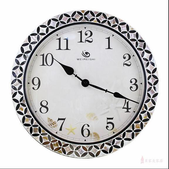 Home Goods Wall Clocks european elegant mosaic clock / wall clock home goods wall decor