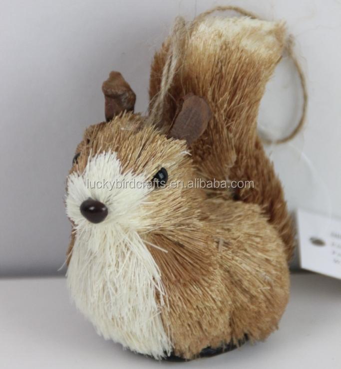 Weihnachten Eichhörnchen Dekoration/eichhörnchen Aus Natürlichen ...