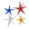 Laser Paper Star Lantern Hanging Decorations For Christmas Party Birthday Home Decor