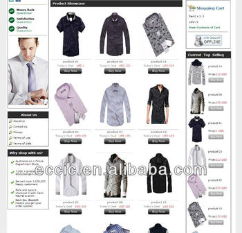 B2c Ecommerce Web Site Design,Online Wholesale Clothing Stores ...