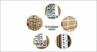 Engine Cylinder Liner/sleeve 13b 11461-58020 For Toyota - Buy 13b ...