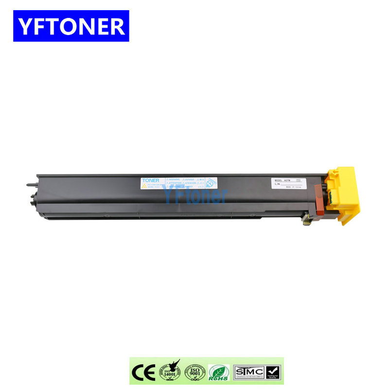 YFtoner TN-411 Toner Cartridge for Konica Minolta Bizhub C451 C654 C754 Color Copier Parts C 451 C 654 C 754 Photocopy Machine