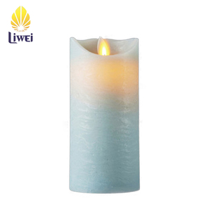 New USA Patent Flame-less Wax Candle LED Light
