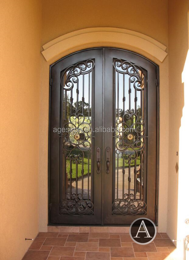Interior Wrought Iron Doors, Interior Wrought Iron Doors Suppliers And  Manufacturers At Alibaba.com