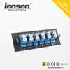 Fiber Optic Adapter Panel LC Type 12 Ports Duplex SM