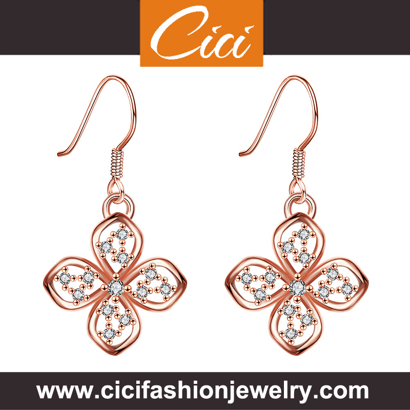 Fantaisie Fashion Collette Z Earrings Best Earrings For Very Sensitive Ears K Gold Earrings