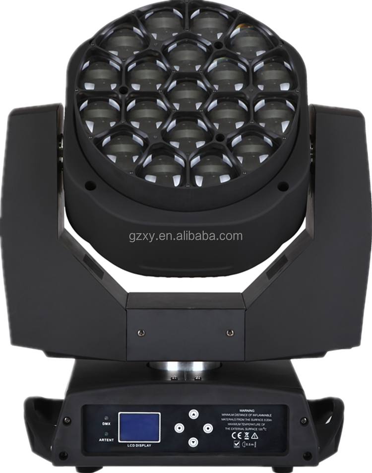 2016 19x15w 4in1 Big Bee Eye Led Moving Head Dj Led Lights