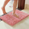 absorbent washable chenille bathroom carpets