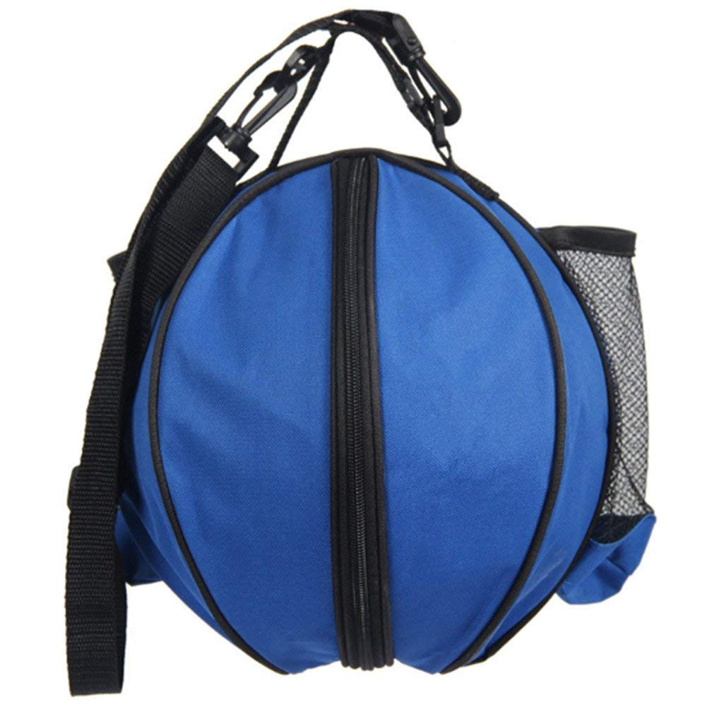 65a762549 Katech Basketball Carry Bag, Practical Sports Ball Bag with Removable  Shoulder Strap 2 Side Mesh