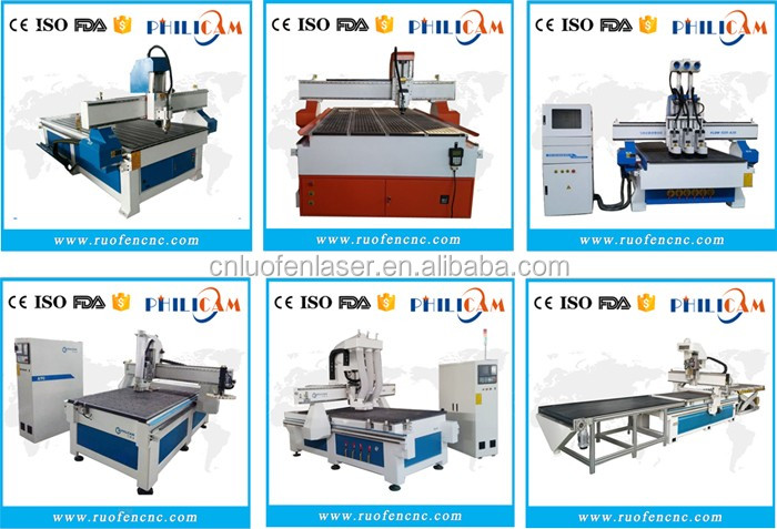 FLDM 4X8FT Yaskawa servo cnc router with HSD ATC spindle