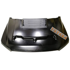 Metal front Engine cover hood scoop for Ford Ranger Raptor 2017
