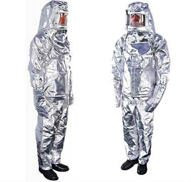 Kevlar and Aluminum Foil Fire Resistant Suit