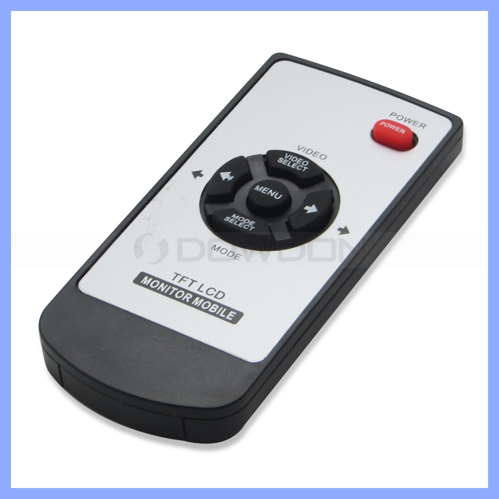 Universal Mini Rubber Remote Controller For TFT LCD Monitor 6pcs Button LCD Display IR Remote Control