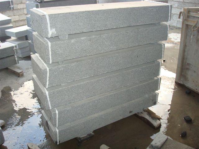exterior de piedra de granito de la escalera y piedra exterior pasos risers granito escaleras