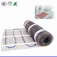 Warm heat electric heating mat used under floor