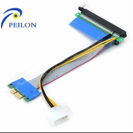 2016 High Quality pci-e to pci converter card vga card mini pci-e to usb3.0 pcie 1X to 16X cable for Bitcoin/Litecoin Mining