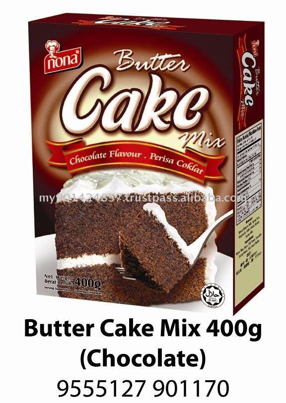 Milka chocolate cake mix