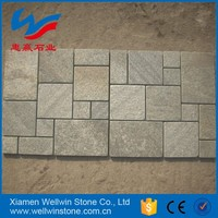 hot natural stone slate tumbled mosaic tile outdoor floor tiles