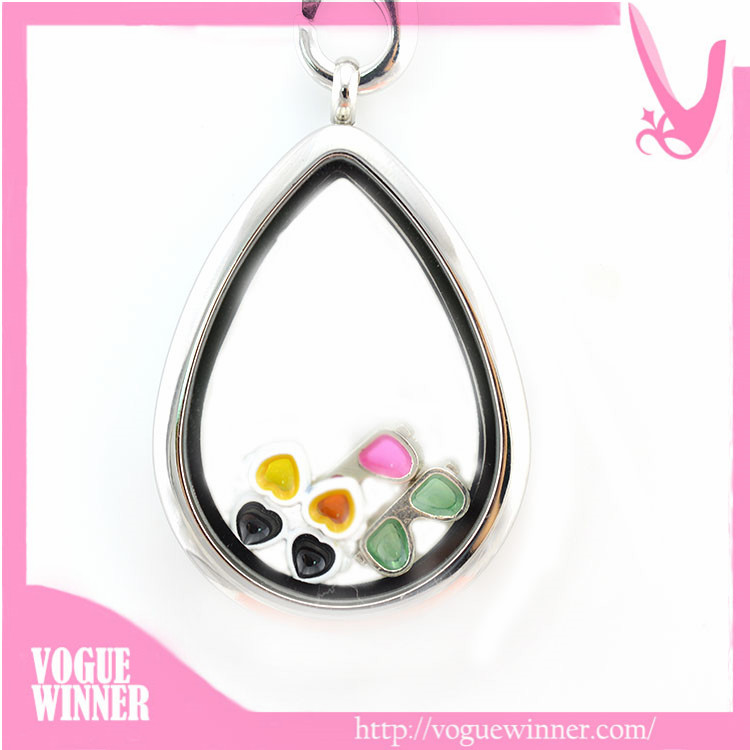 without shadow paris s sterling ana teardrop silver lockets locket