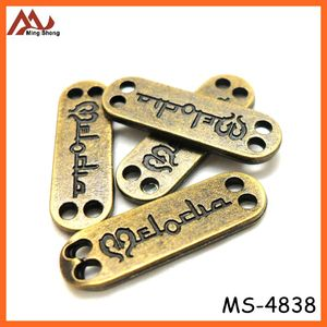 CHEAP FACTORY PRICES handmade metal label for handbag